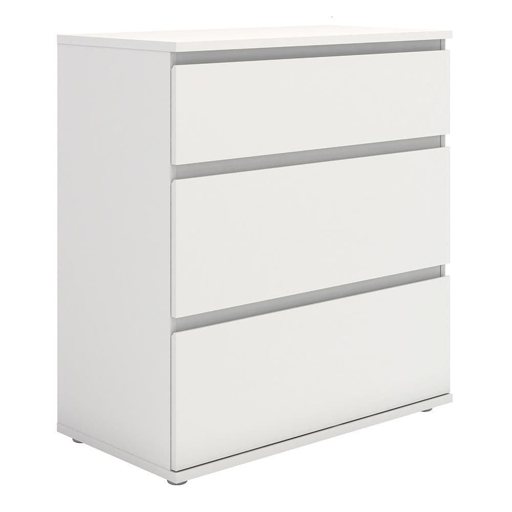 Orson Chest of 3 Drawers in White